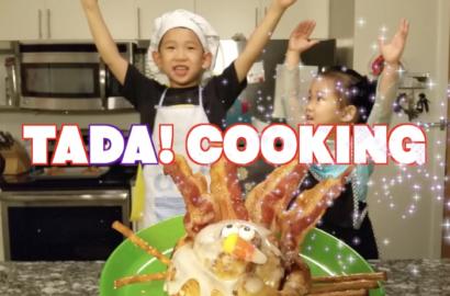cooking show, toddler, chef, kids, baking, family, fun