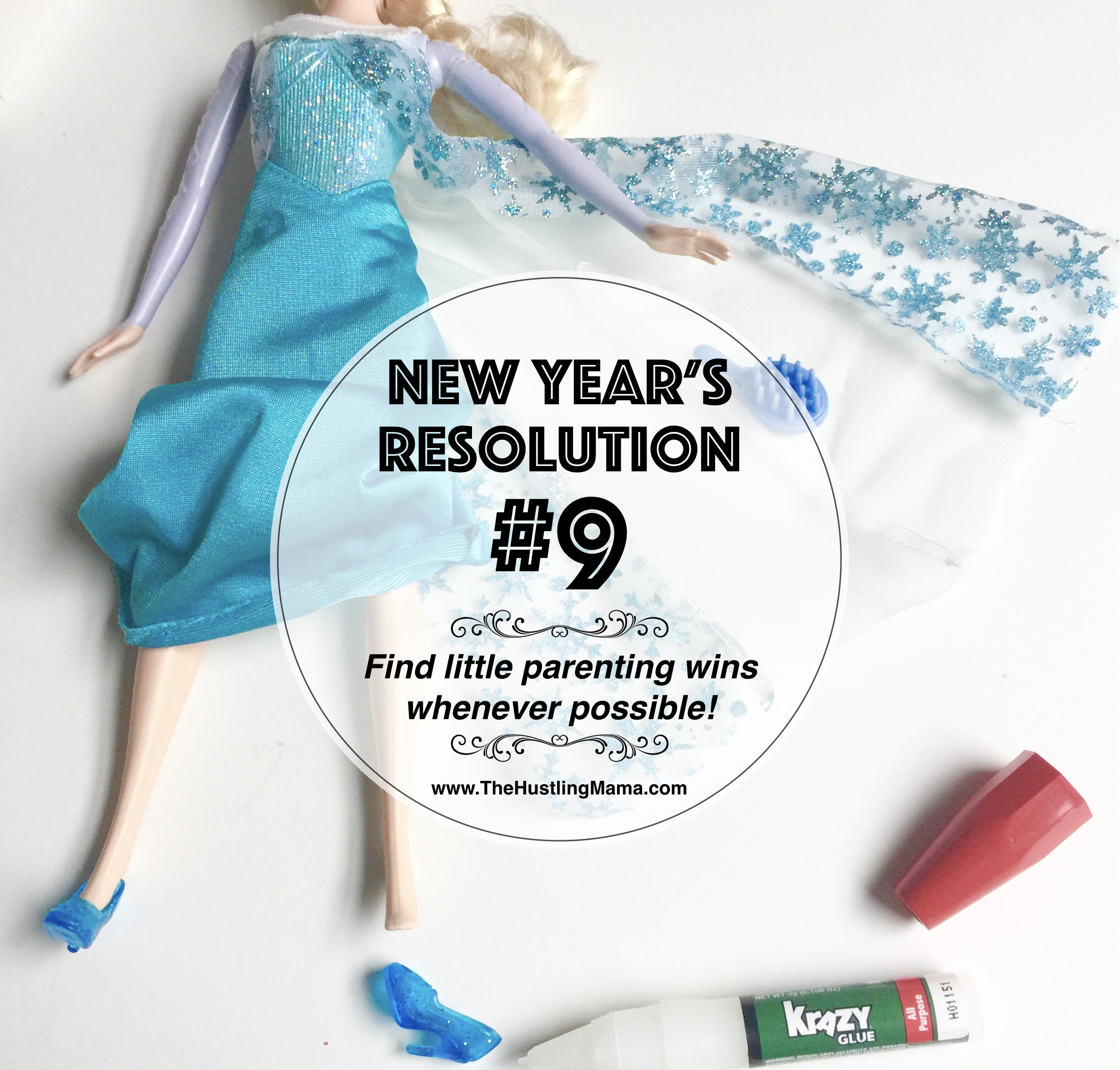 Parenting Mom New Year's Resolution #9