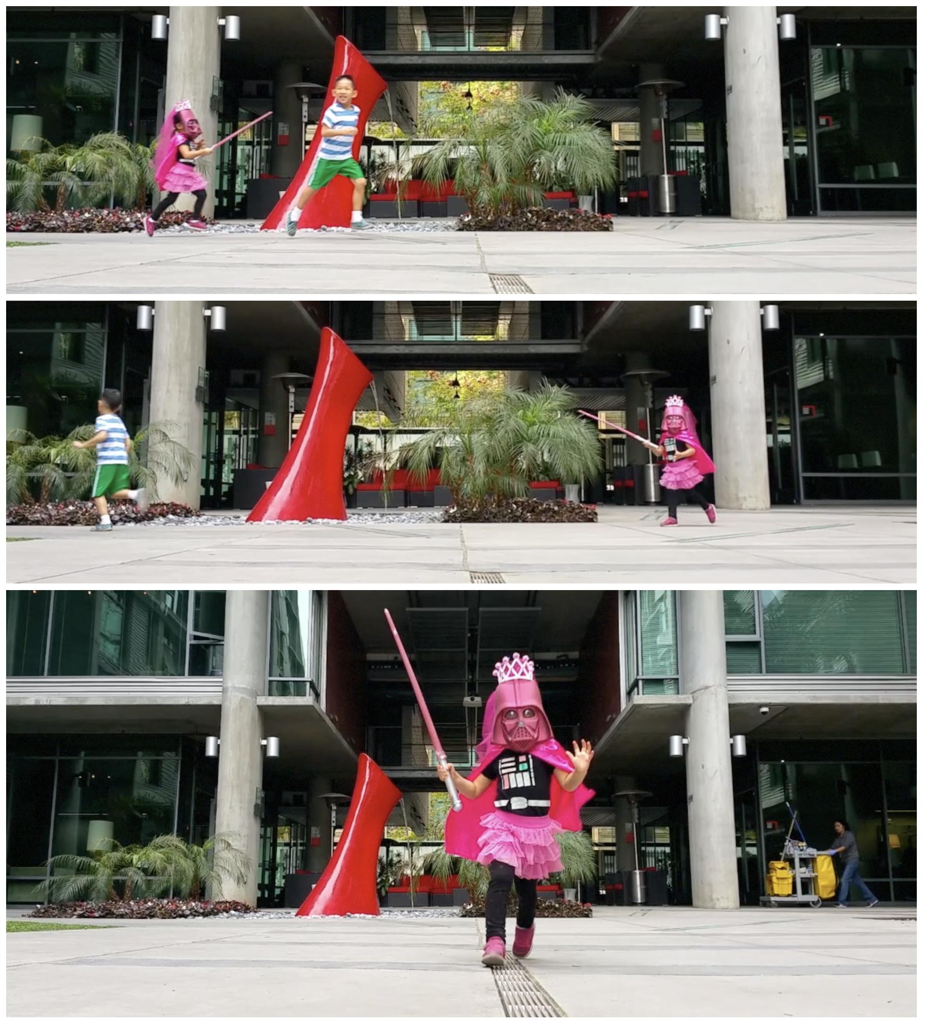 star wars pink darth vader costume toddler kid fun cosplay