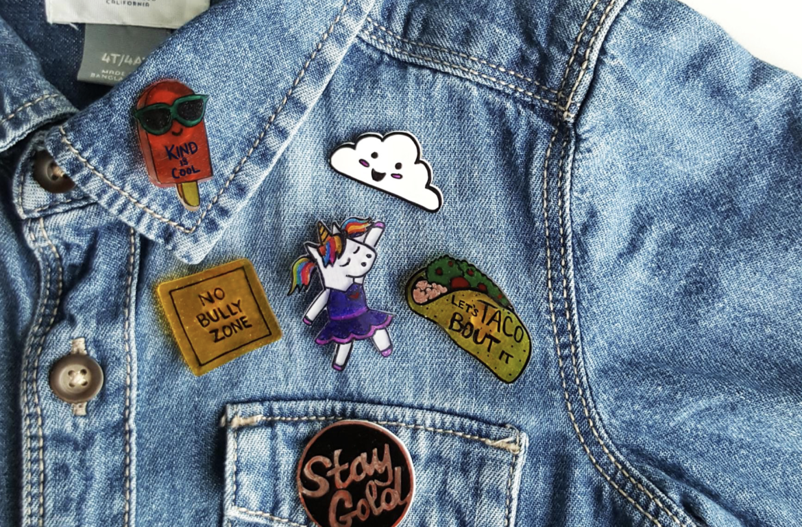 Anti-bully pins never made your denim look so good