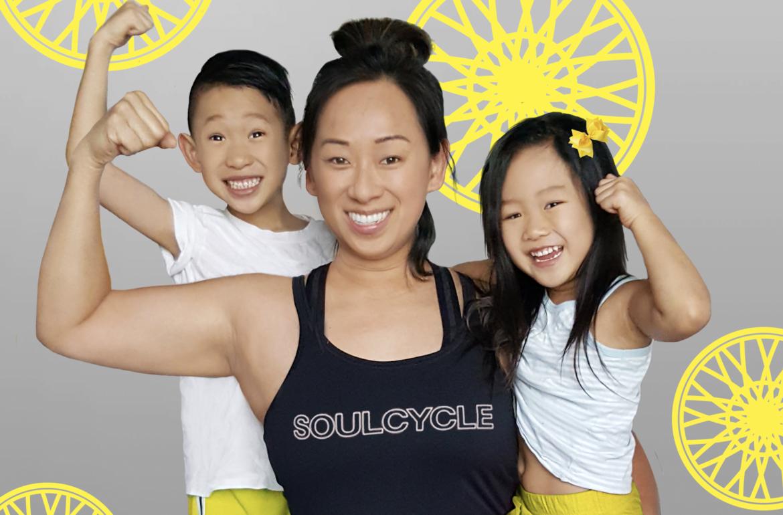 give away momblogger mom motherhood kids exercise soul cycle