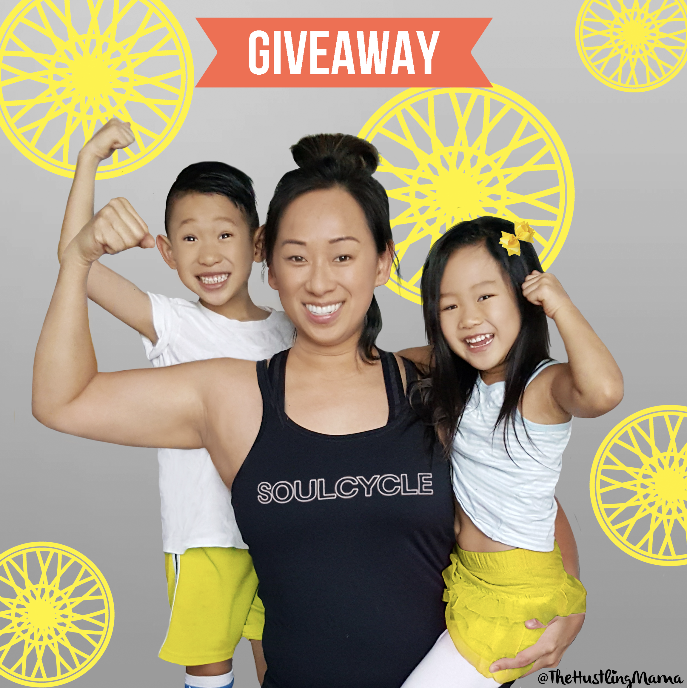 give away momblogger mom motherhood kids exercise soul cycle