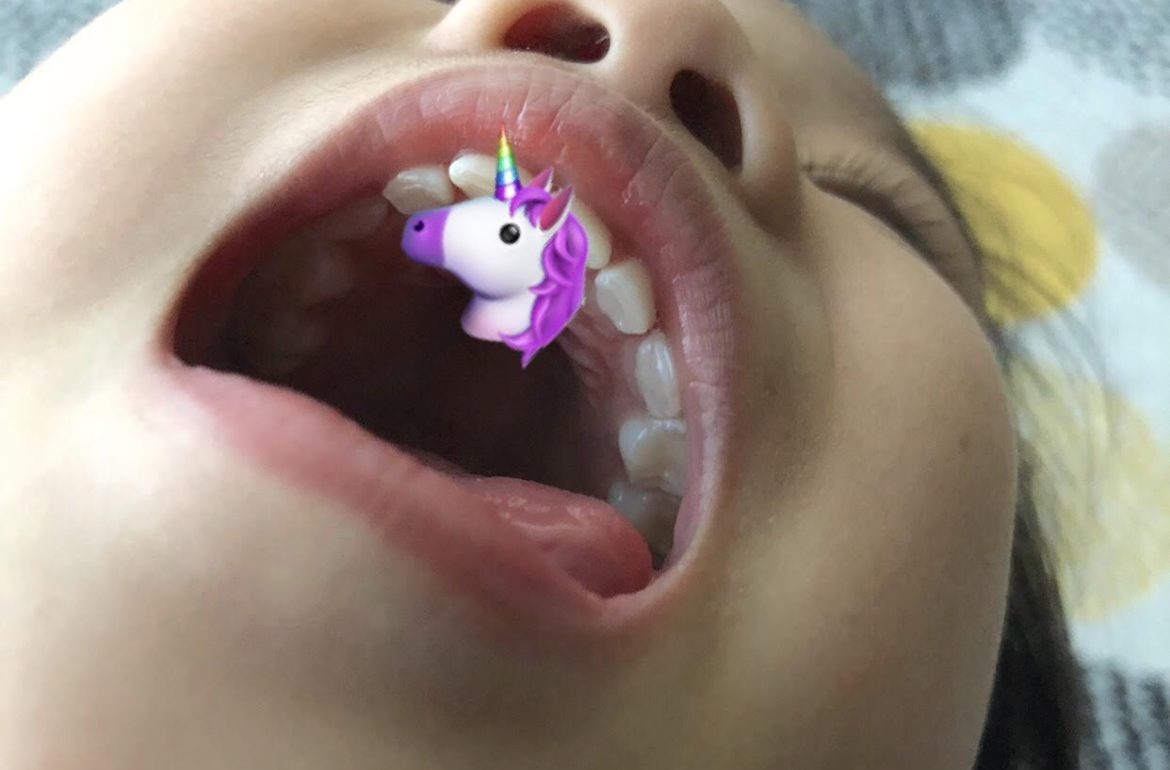 dentist unicorn tooth kid childhood teeth child dental brave